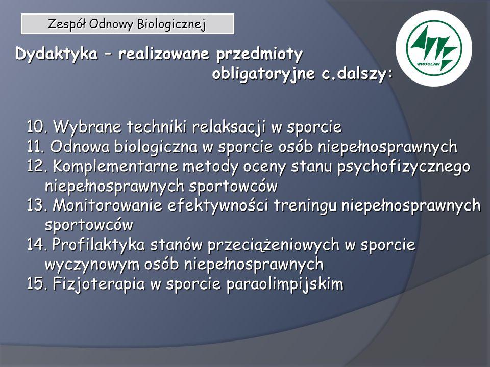 Zespół Odnowy Biologicznej