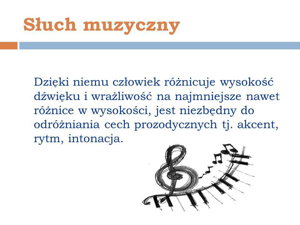 Słuch muzyczny