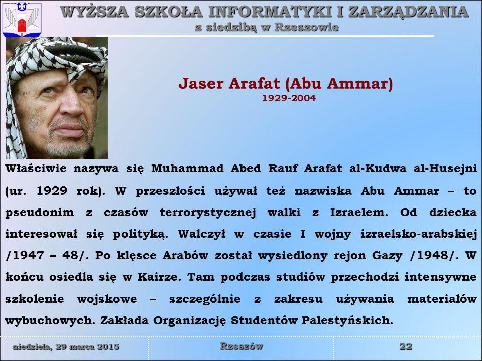 Jaser Arafat (Abu Ammar)