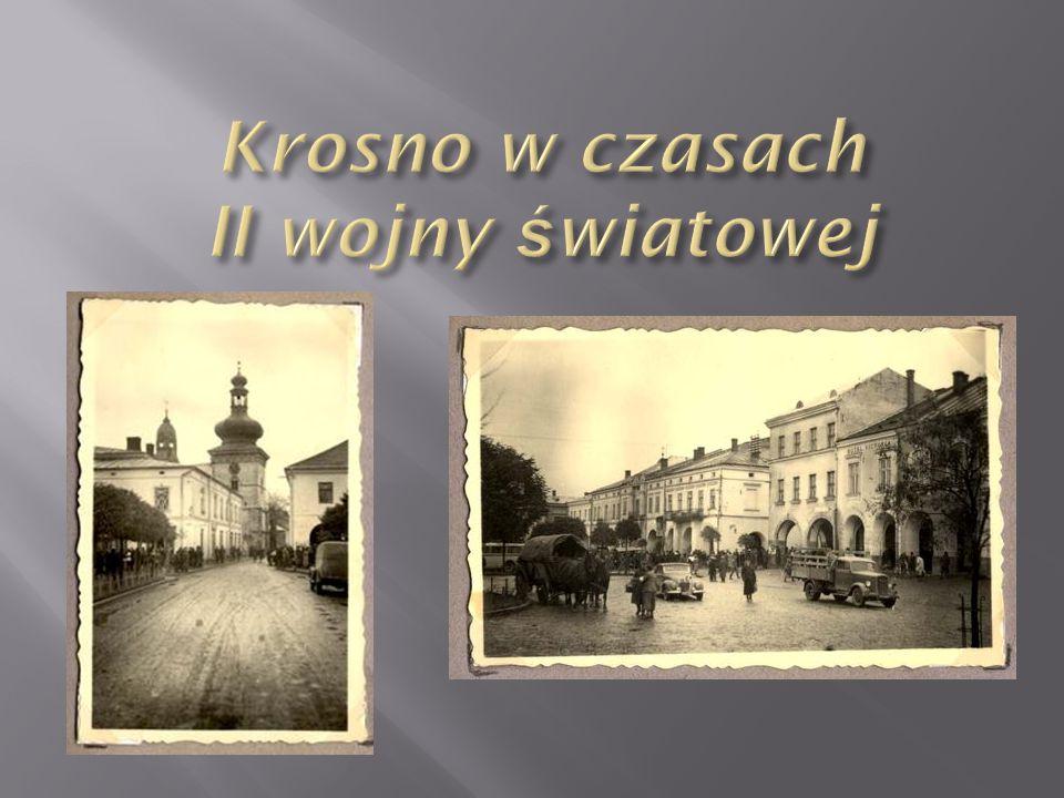 Krosno w czasach II wojny światowej