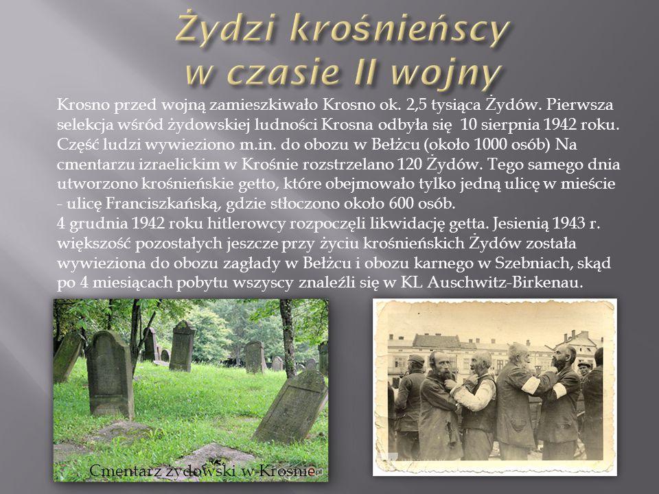 Żydzi krośnieńscy w czasie II wojny