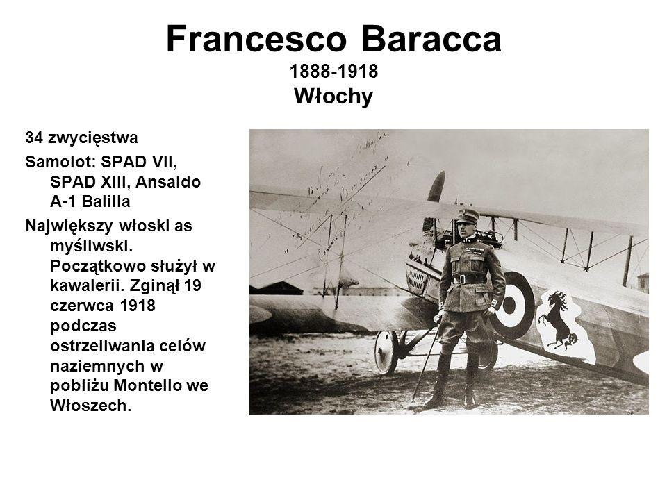 Francesco Baracca 1888-1918 Włochy