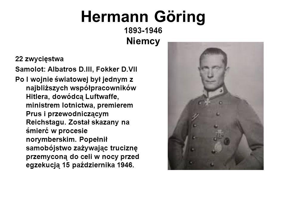 Hermann Göring 1893-1946 Niemcy