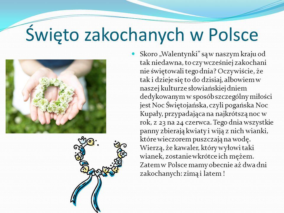 Święto zakochanych w Polsce