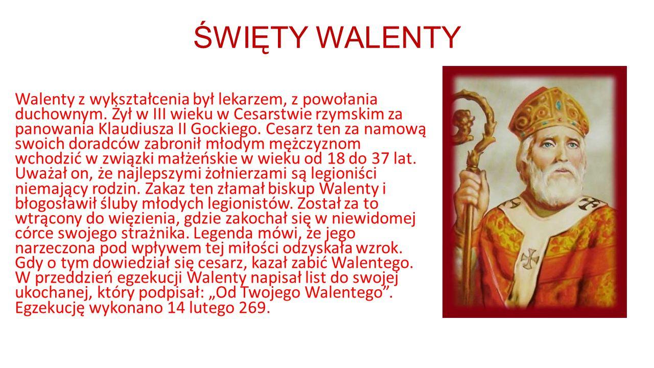 ŚWIĘTY WALENTY
