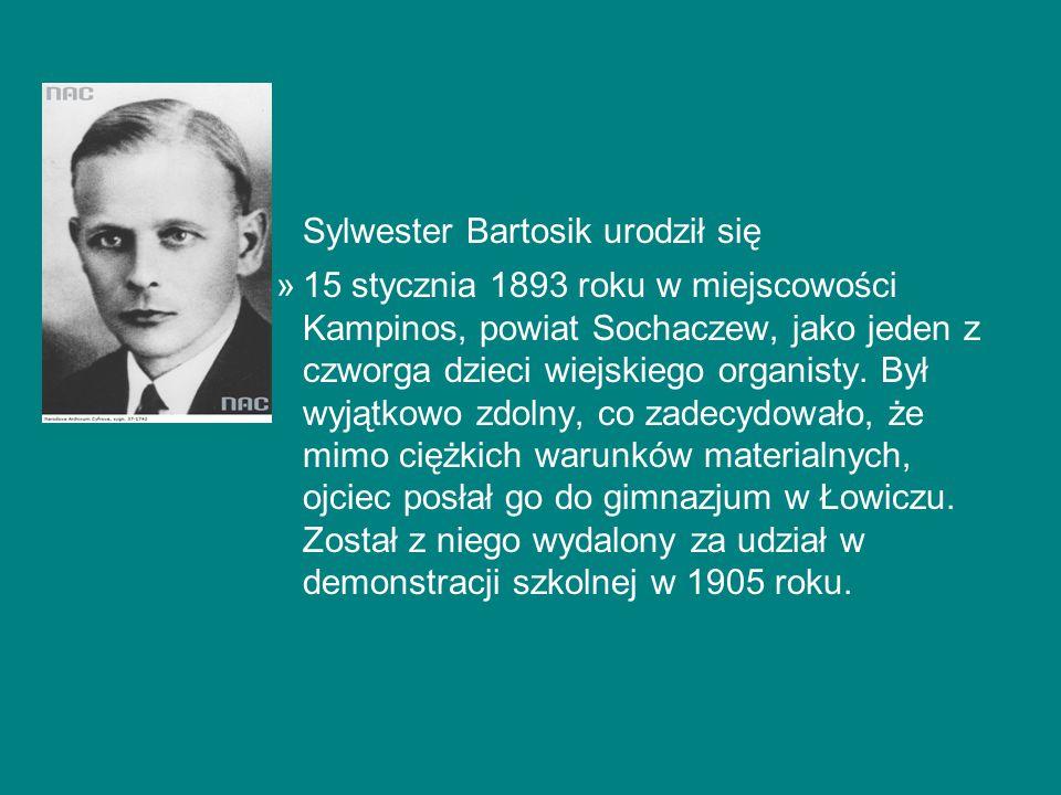 Sylwester Bartosik urodził się