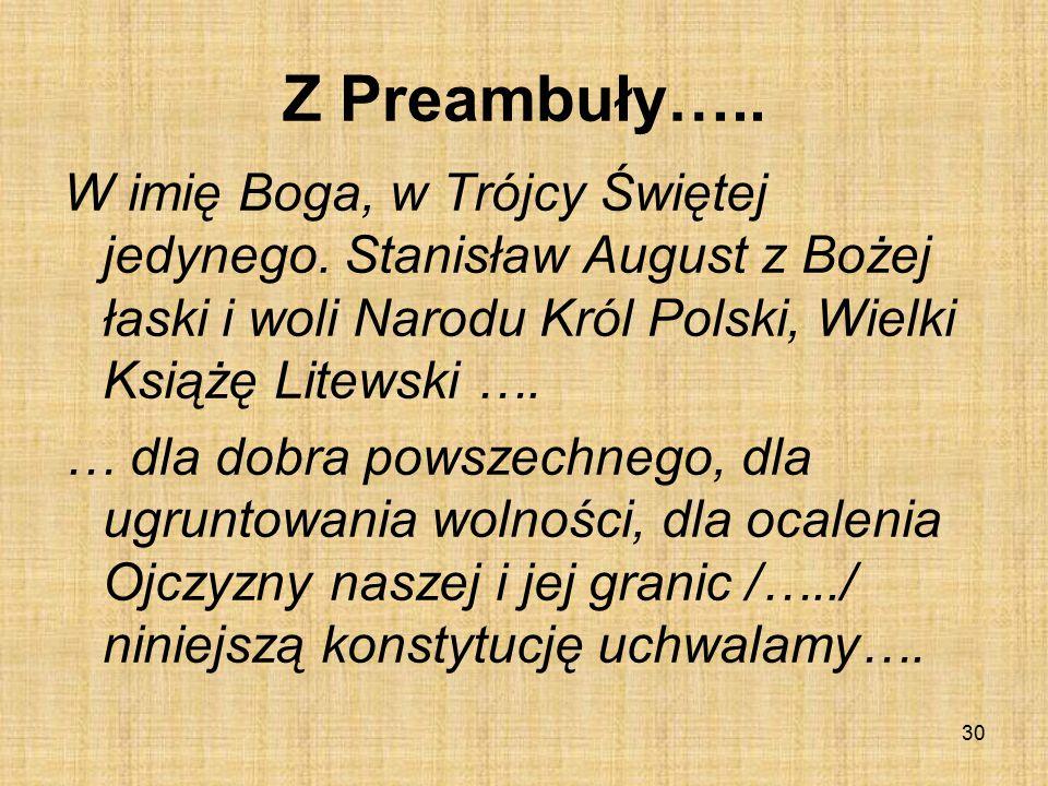 Z Preambuły…..
