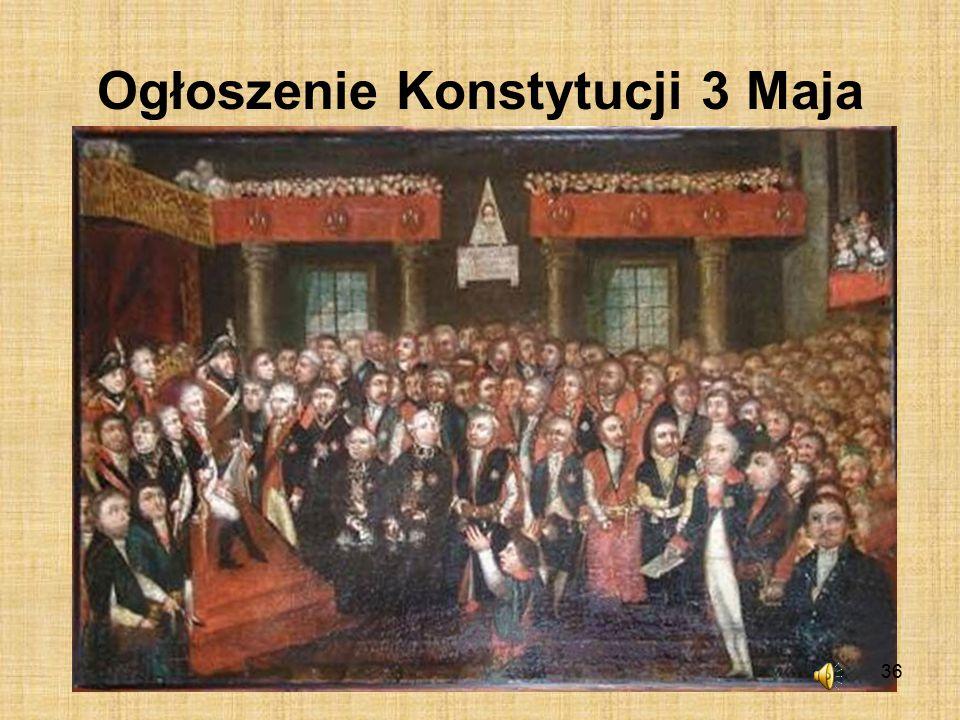 Ogłoszenie Konstytucji 3 Maja
