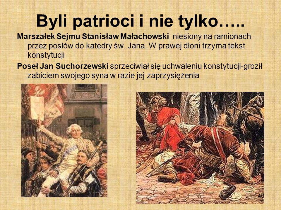 Byli patrioci i nie tylko…..