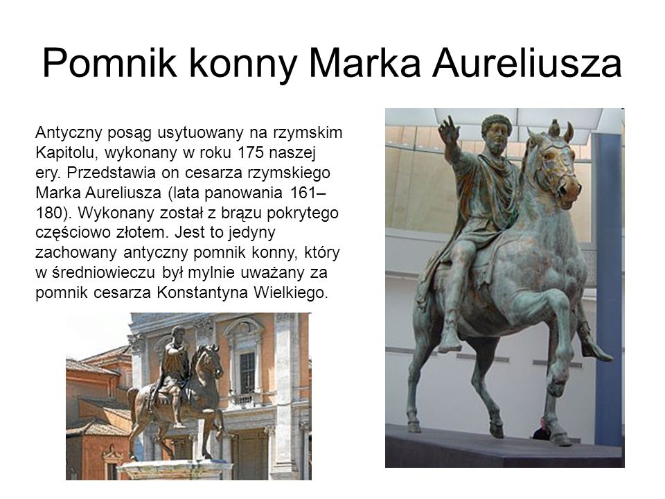 Pomnik konny Marka Aureliusza