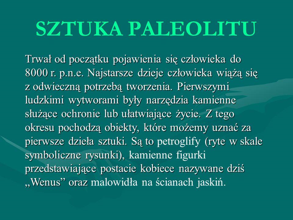 SZTUKA PALEOLITU