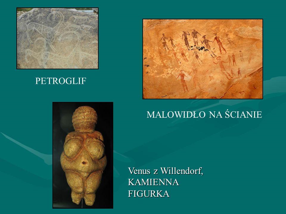 PETROGLIF MALOWIDŁO NA ŚCIANIE Venus z Willendorf, KAMIENNA FIGURKA