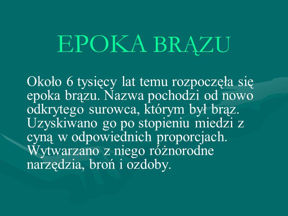 EPOKA BRĄZU