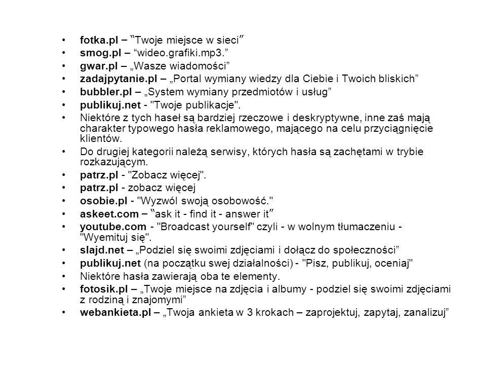 fotka.pl – Twoje miejsce w sieci