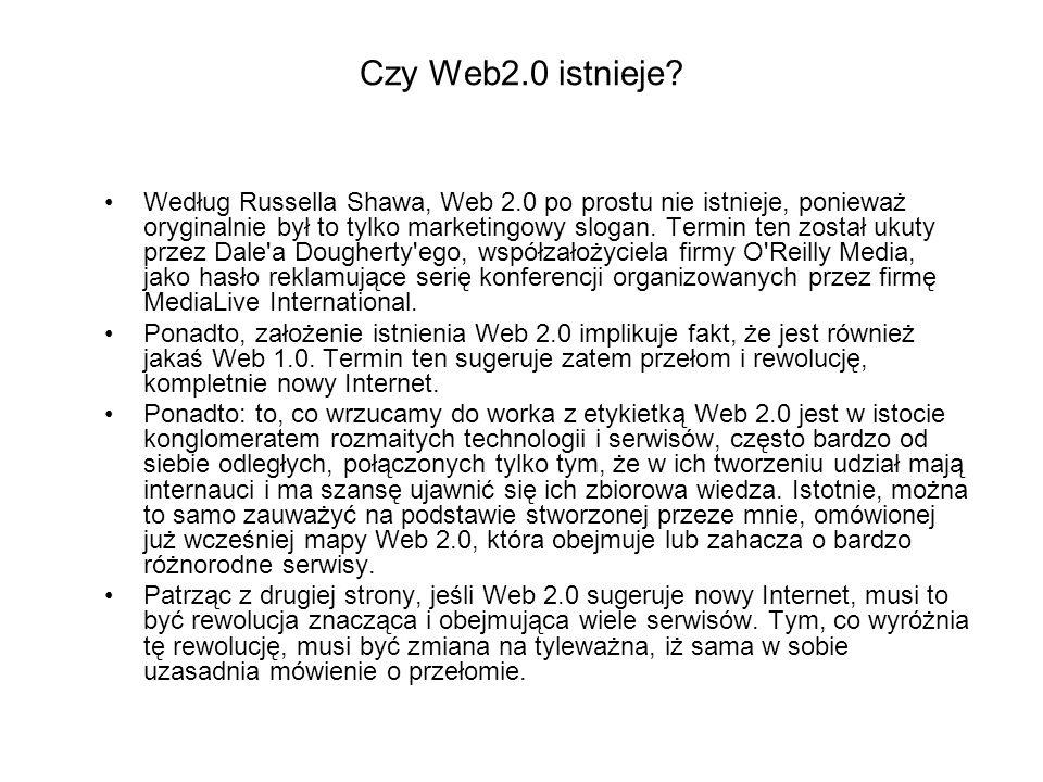 Czy Web2.0 istnieje