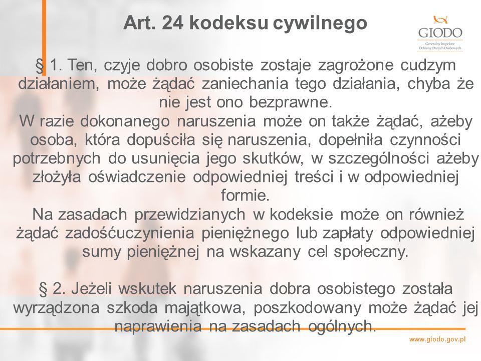 Art. 24 kodeksu cywilnego