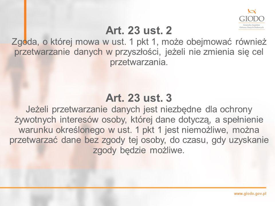Art. 23 ust. 2