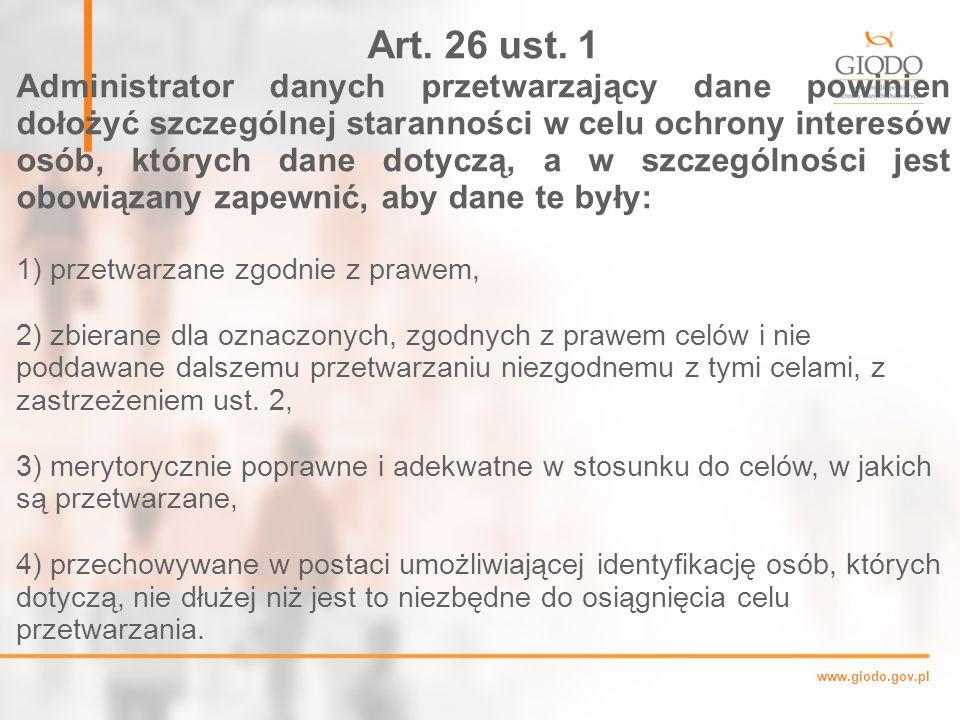 Art. 26 ust. 1