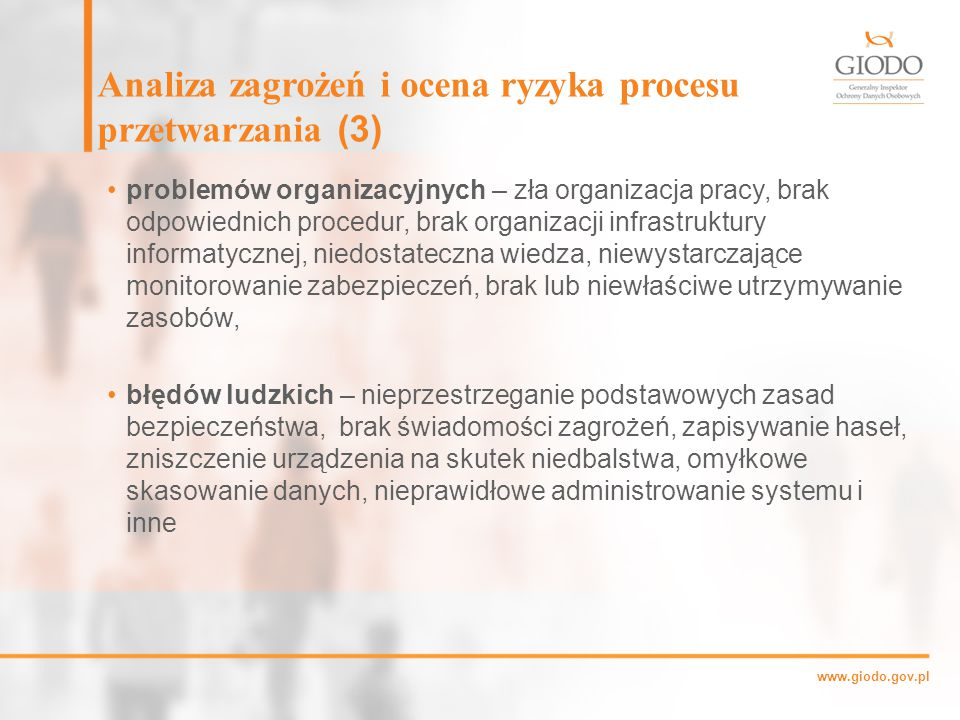 Analiza zagrożeń i ocena ryzyka procesu przetwarzania (3)