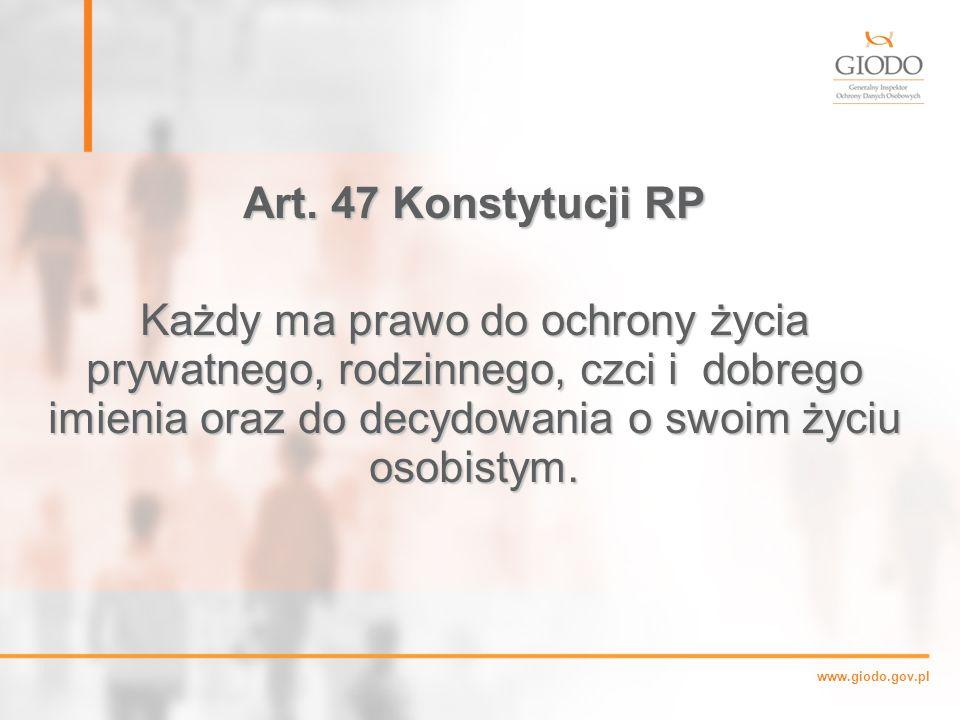 Art. 47 Konstytucji RP