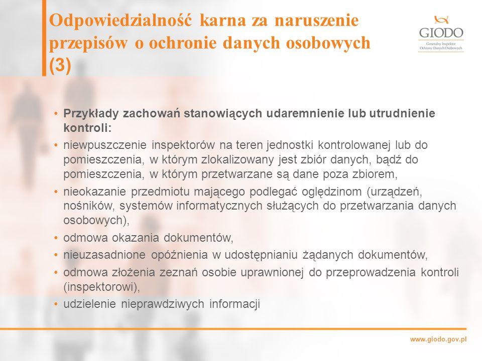 Odpowiedzialność karna za naruszenie przepisów o ochronie danych osobowych (3)