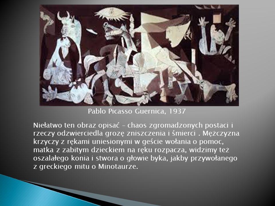 Pablo Picasso Guernica, 1937