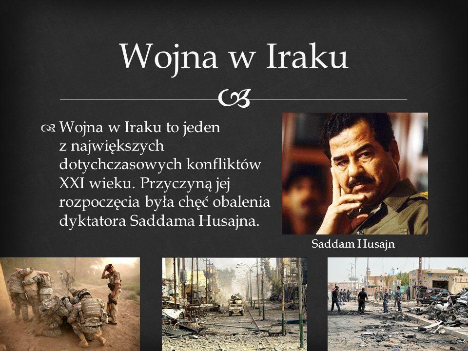Wojna w Iraku