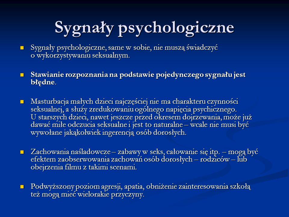 Sygnały psychologiczne
