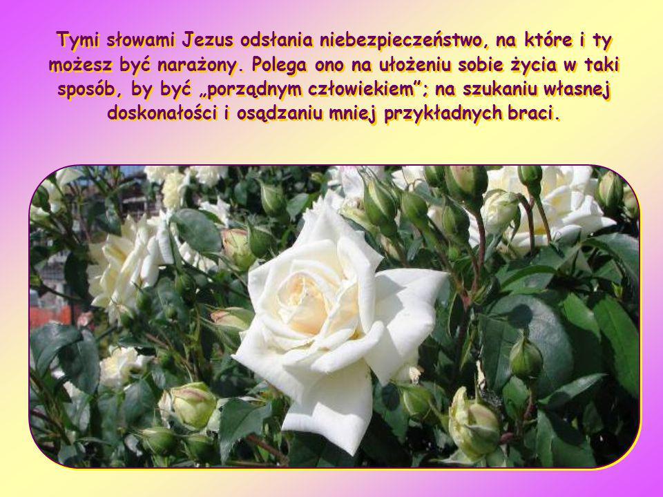 Tymi słowami Jezus odsłania niebezpieczeństwo, na które i ty możesz być narażony.