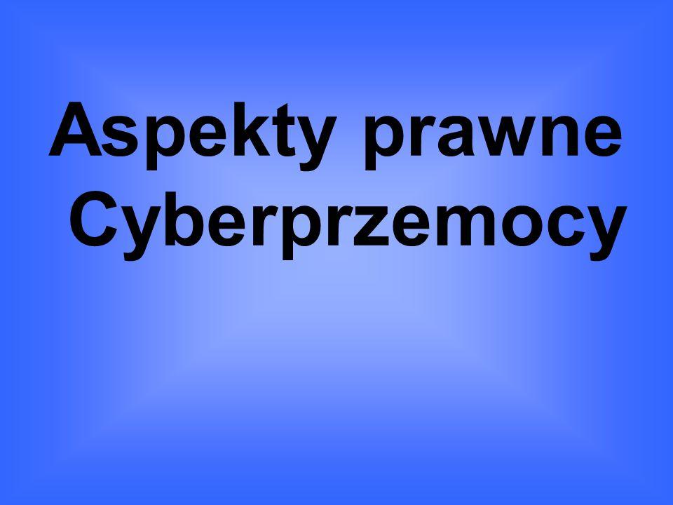Aspekty prawne Cyberprzemocy