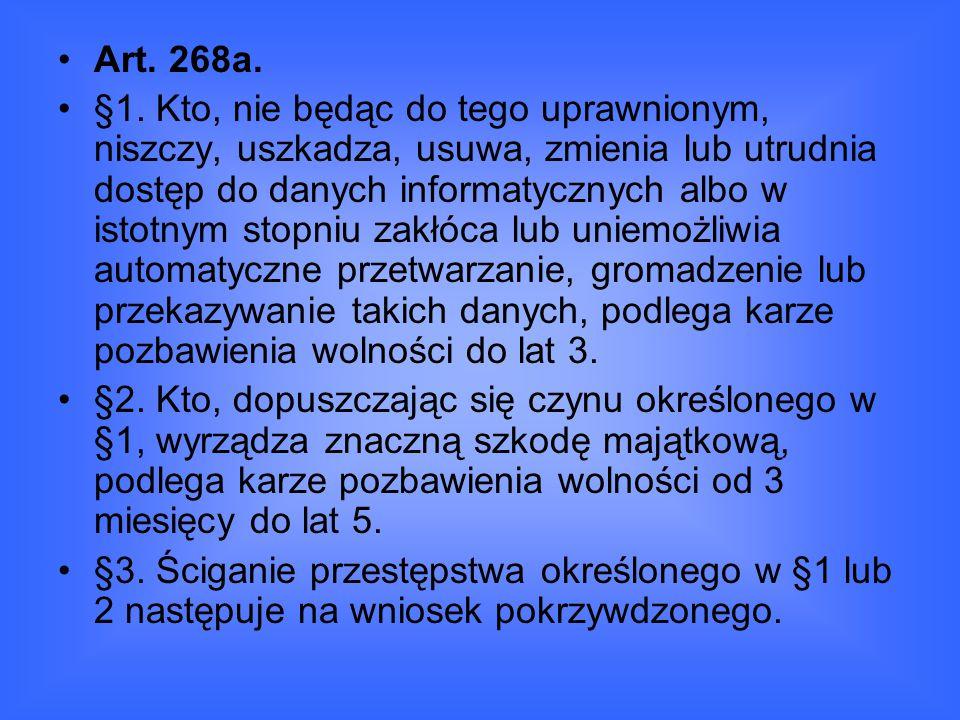 Art. 268a.