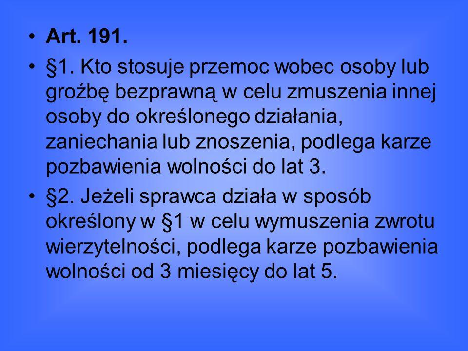 Art. 191.
