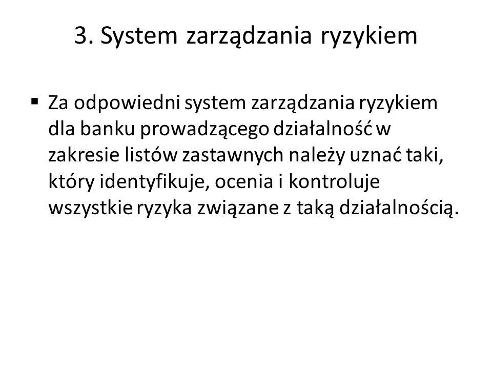 3. System zarządzania ryzykiem
