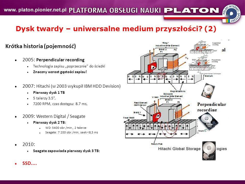 Dysk twardy – uniwersalne medium przyszłości (2)