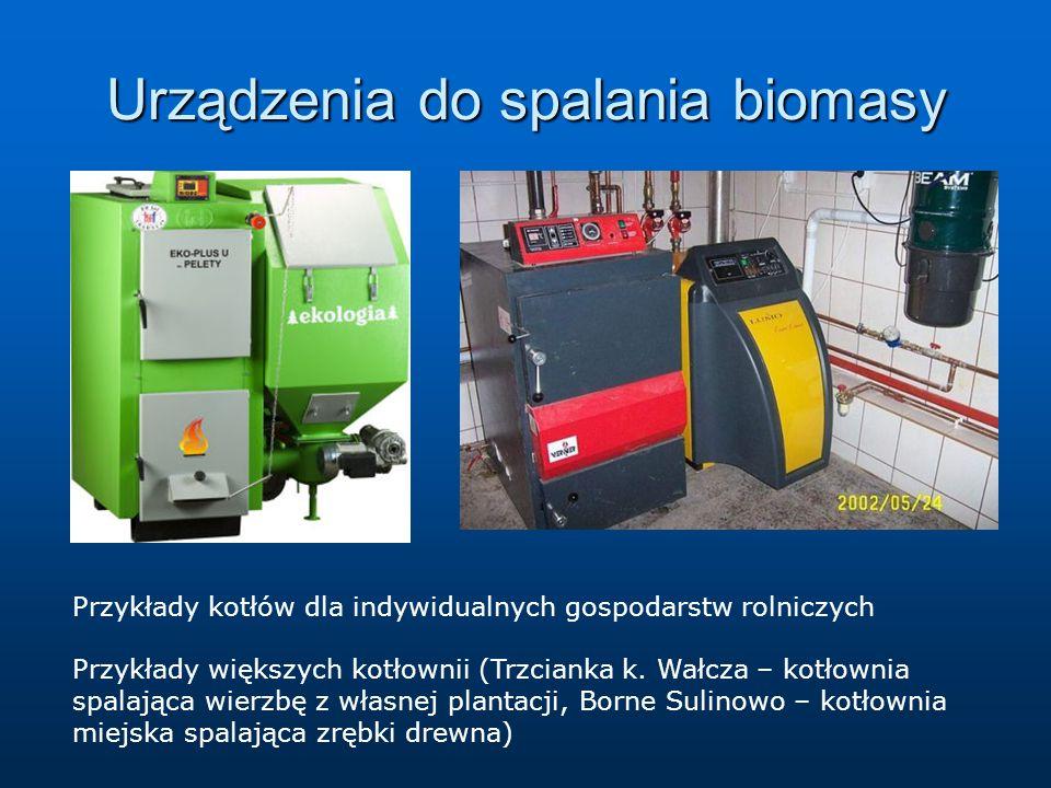 Urządzenia do spalania biomasy