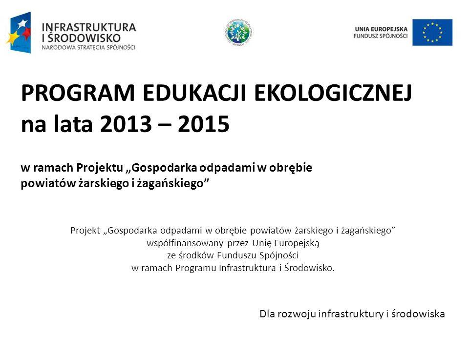 PROGRAM EDUKACJI EKOLOGICZNEJ na lata 2013 – 2015