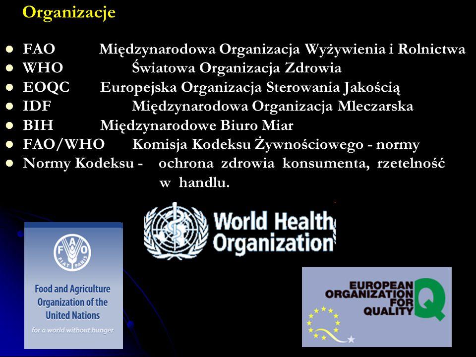 Organizacje FAO Międzynarodowa Organizacja Wyżywienia i Rolnictwa
