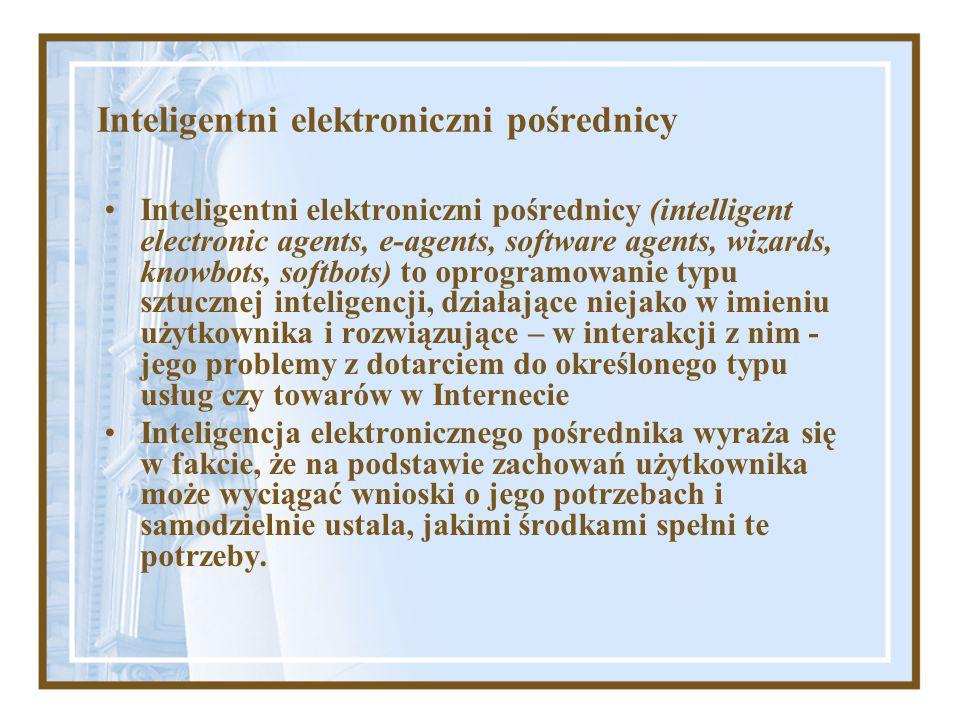 Inteligentni elektroniczni pośrednicy