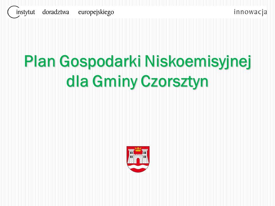 Plan Gospodarki Niskoemisyjnej dla Gminy Czorsztyn