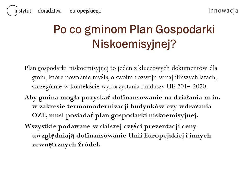 Po co gminom Plan Gospodarki Niskoemisyjnej