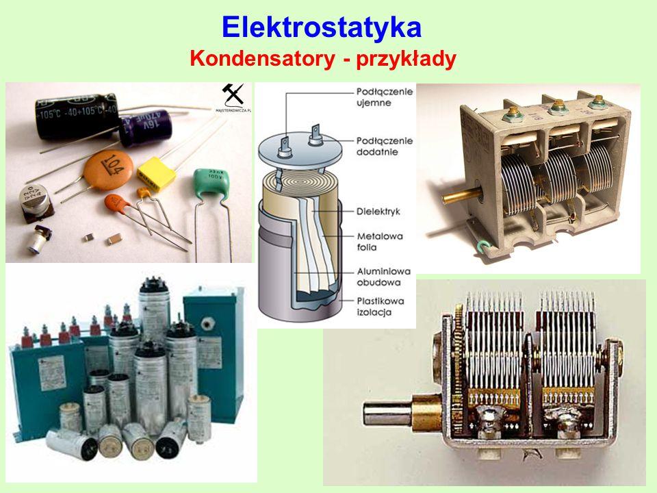 Kondensatory - przykłady