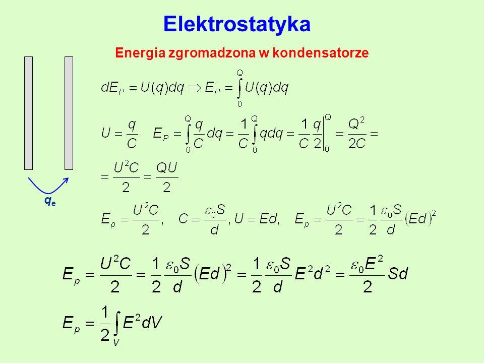 Energia zgromadzona w kondensatorze