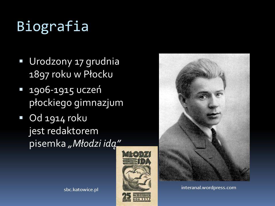 Biografia Urodzony 17 grudnia 1897 roku w Płocku