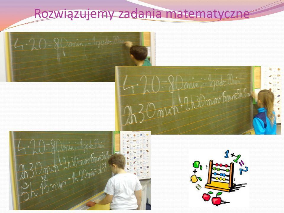 Rozwiązujemy zadania matematyczne