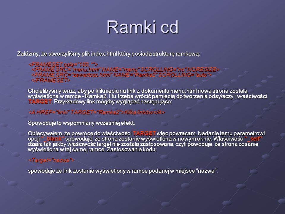 Ramki cd