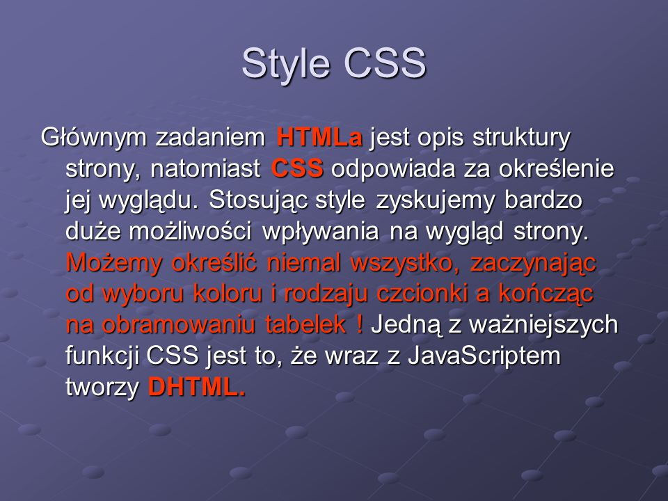 Style CSS
