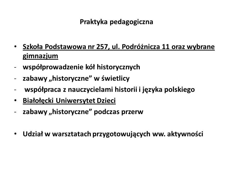 Praktyka pedagogiczna