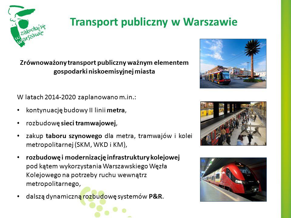 Transport publiczny w Warszawie