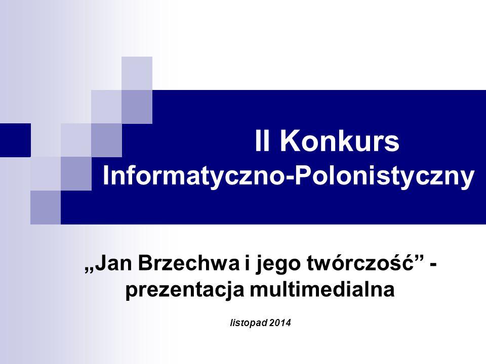 II Konkurs Informatyczno-Polonistyczny