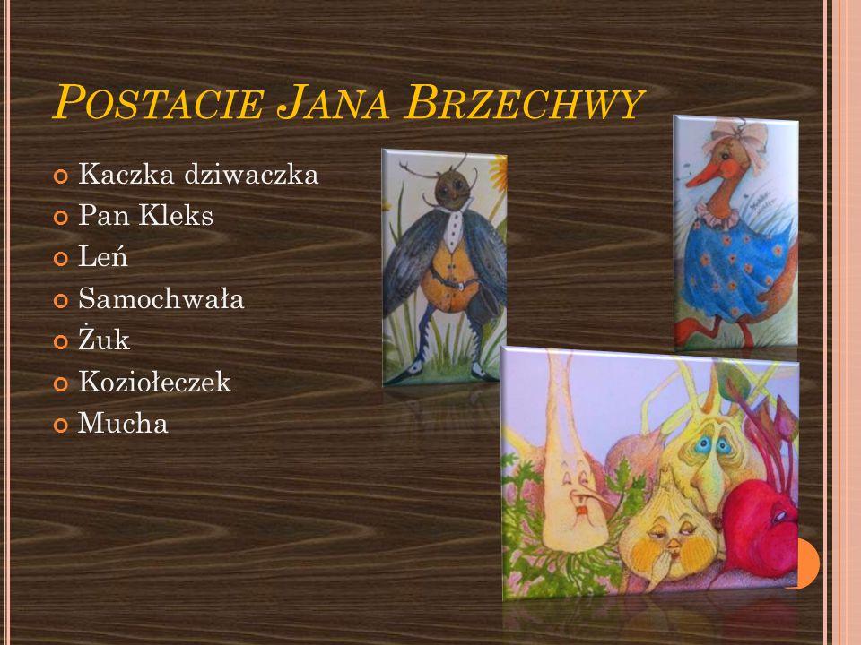 Postacie Jana Brzechwy